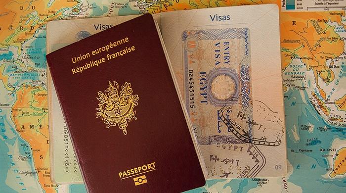 مدارک وقت سفارت فرانسه
