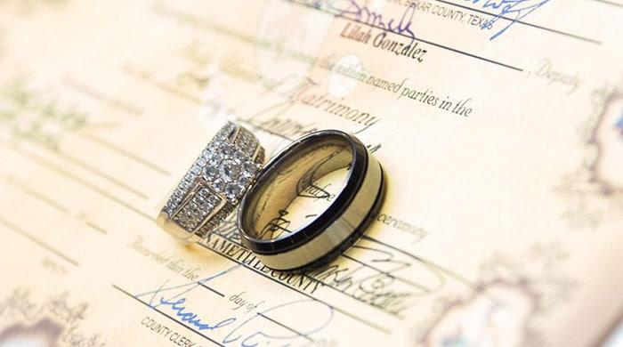 ترجمه سند ازدواج